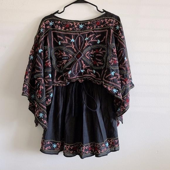 Free People Dresses & Skirts - Free People Frida Embroidered Mini Dress